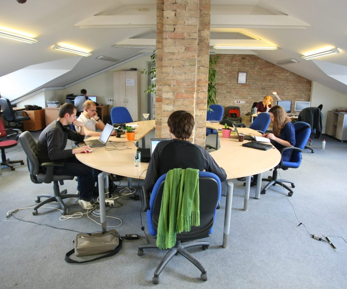 Coworking Space - CC-Lizenz Mindaugas Danys