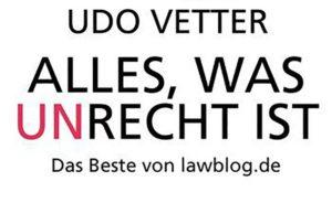 lawblog: Das Buch zum Blog