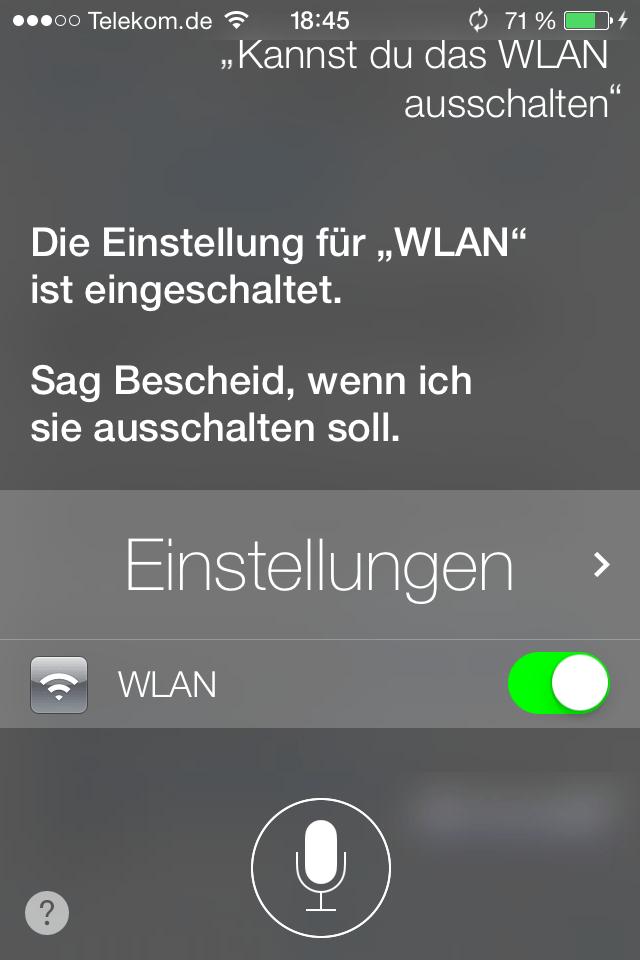 Siri, verarsch' doch jemand anders!
