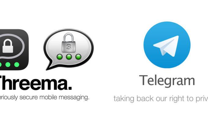 Mal Telegram oder Threema anschauen?