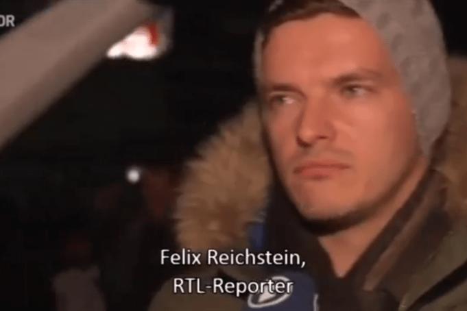 PEGIDA und ein RTL-Reporter
