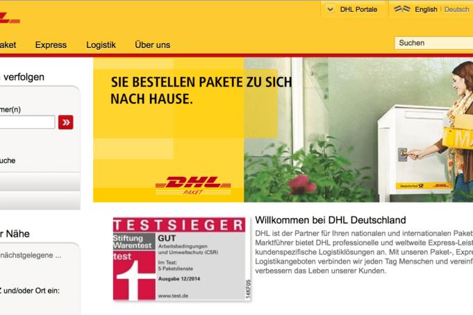 Kundennichtservice: DHL ist nicht immer DHL
