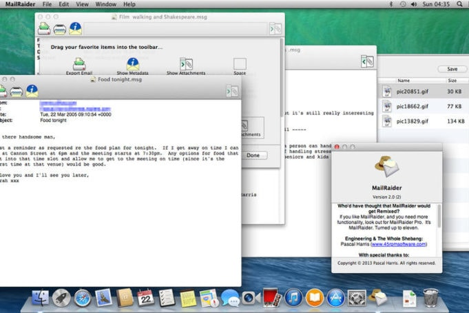 Outlook .msg auf dem Mac öffnen