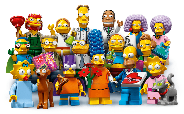 Lego Simpsons Minifiguren 2