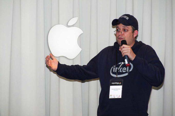 Der Sascha,  Apple Music und der Apfel-Trigger