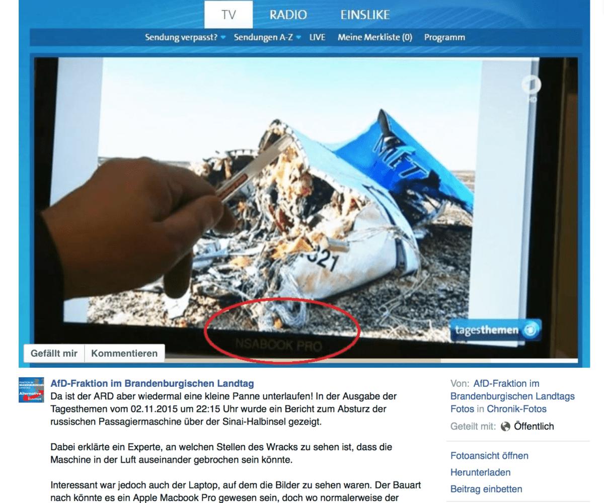 Da hat sich die AfD mal wieder zum Gespött gemacht…