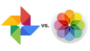 Fotos: Google vs. Apple