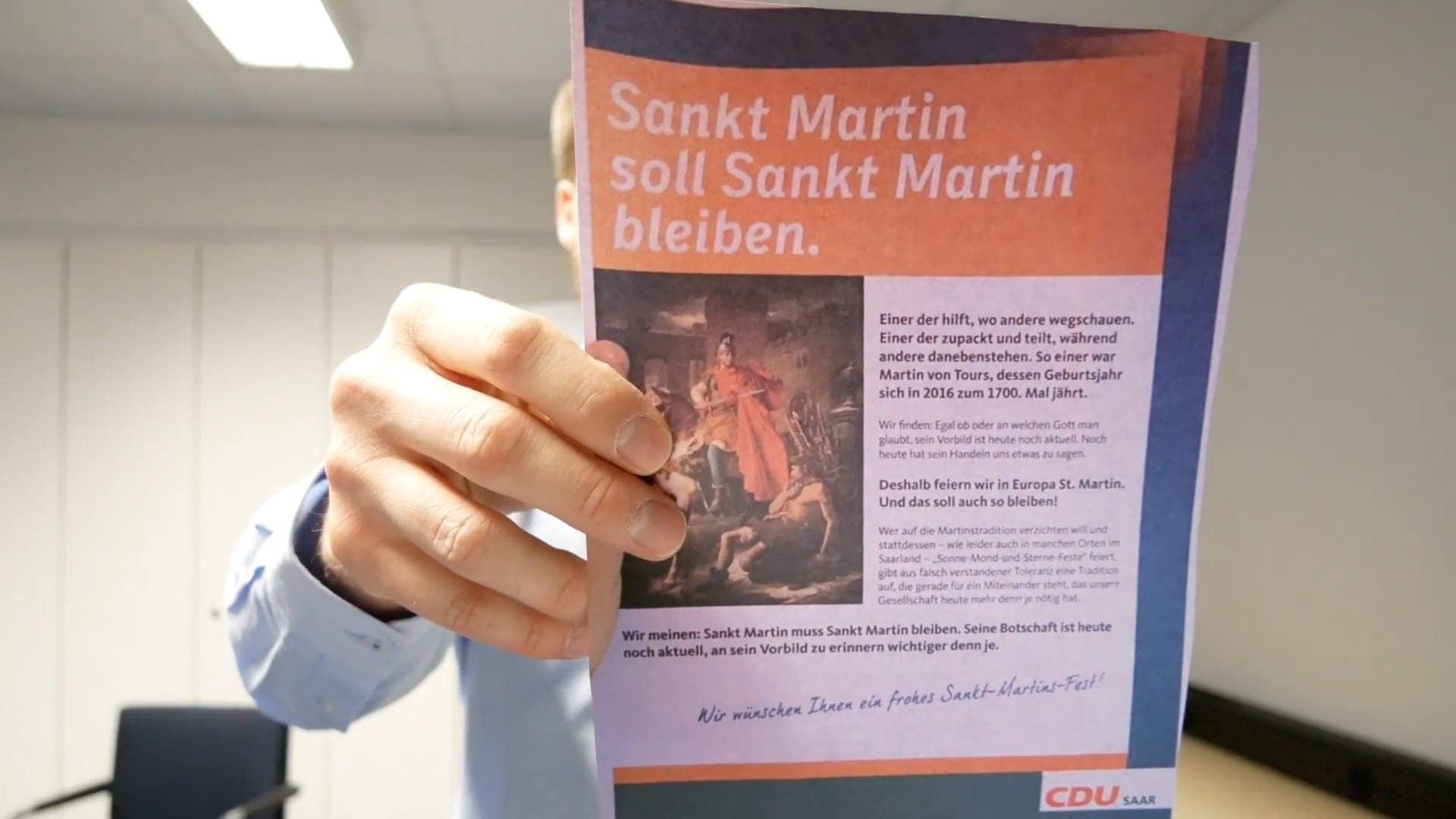 Sankt Martin und die CDU