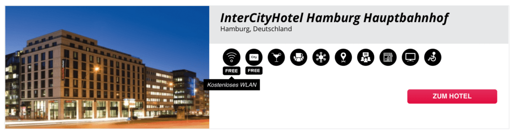 InterCity Hotel Hamburg WLAN 1
