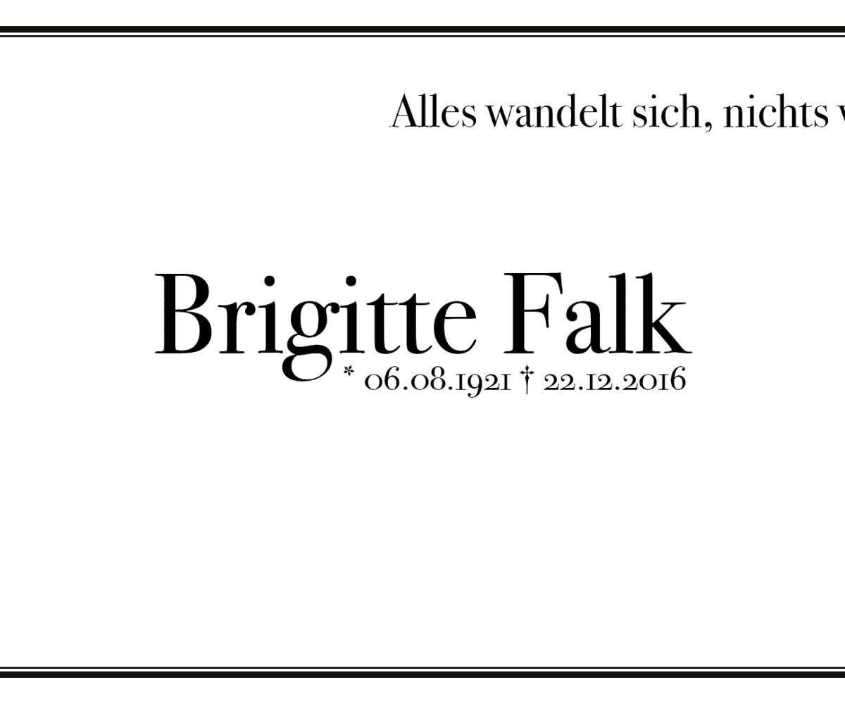 Brigitte Falk
