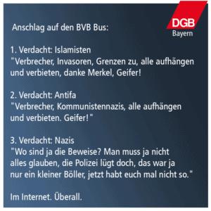 Zum Anschlag auf den BVB-Bus
