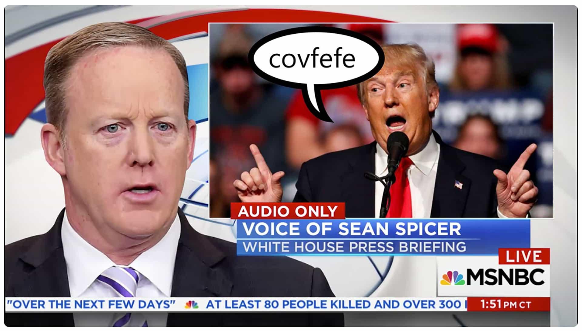 Sean Spicer hat den miesesten Job überhaupt