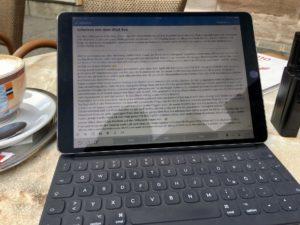 Arbeiten mit dem iPad Pro