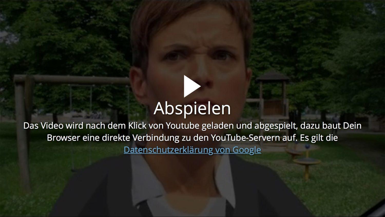 Wordpress & Datenschutz: YouTube wirklich sauber eingebunden