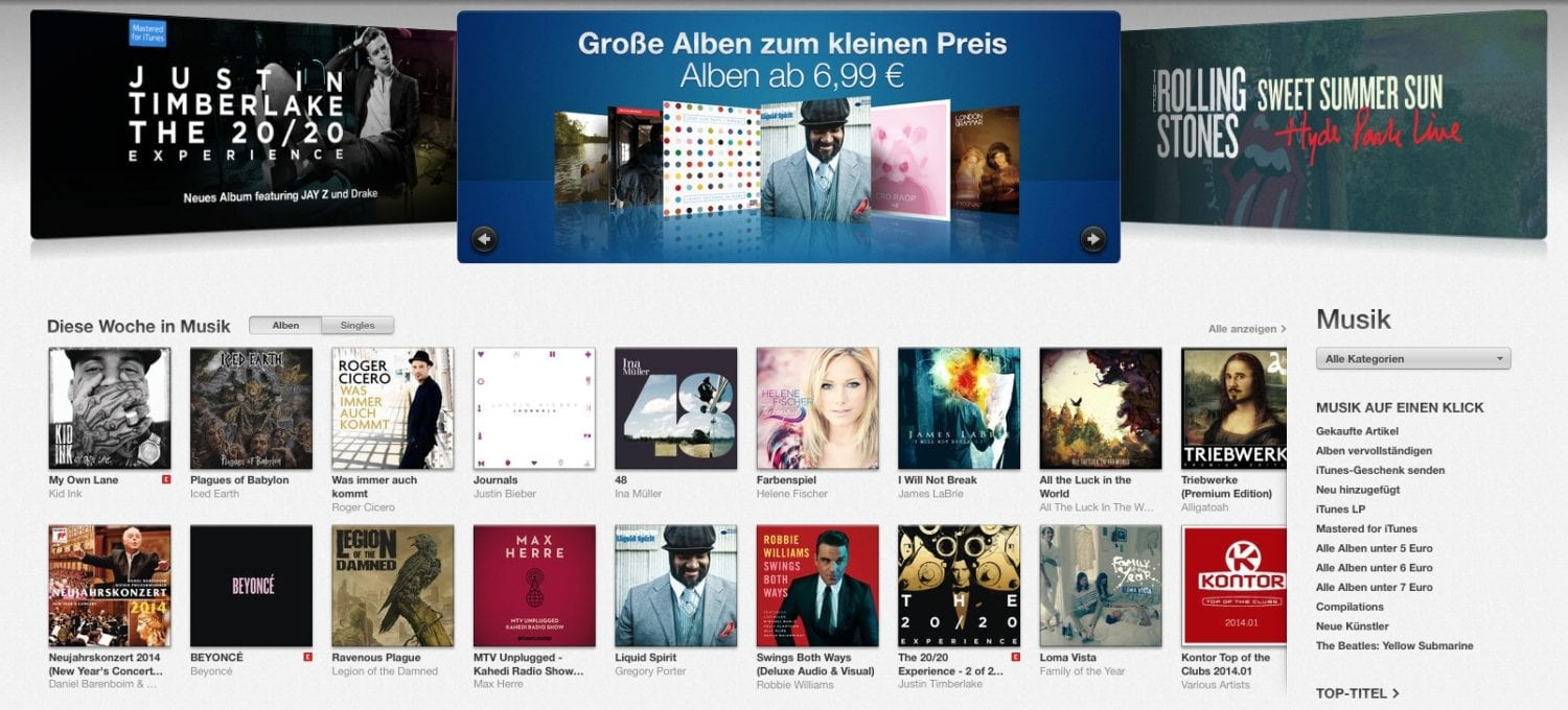 USA: Weniger Downloads, mehr Streaming