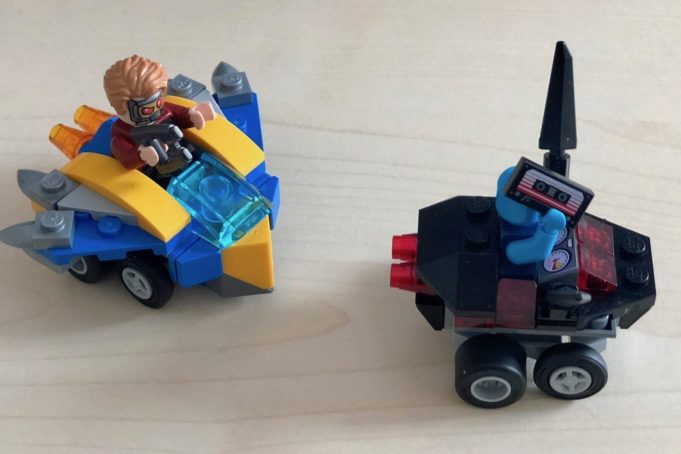 Lego Mighty Micros: Star-Lord vs. Nebula