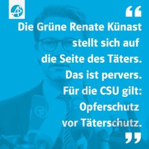 Die Perversion des Andreas Scheuer und der CSU