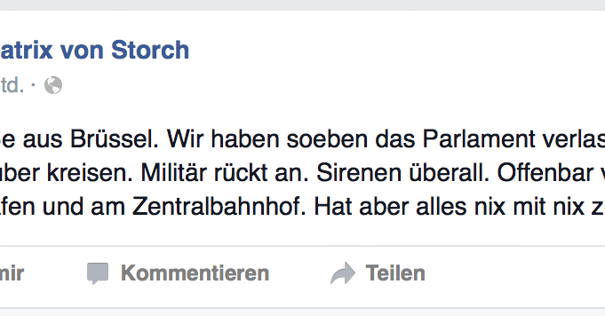 Storch vs. Lengsfeld (Update)