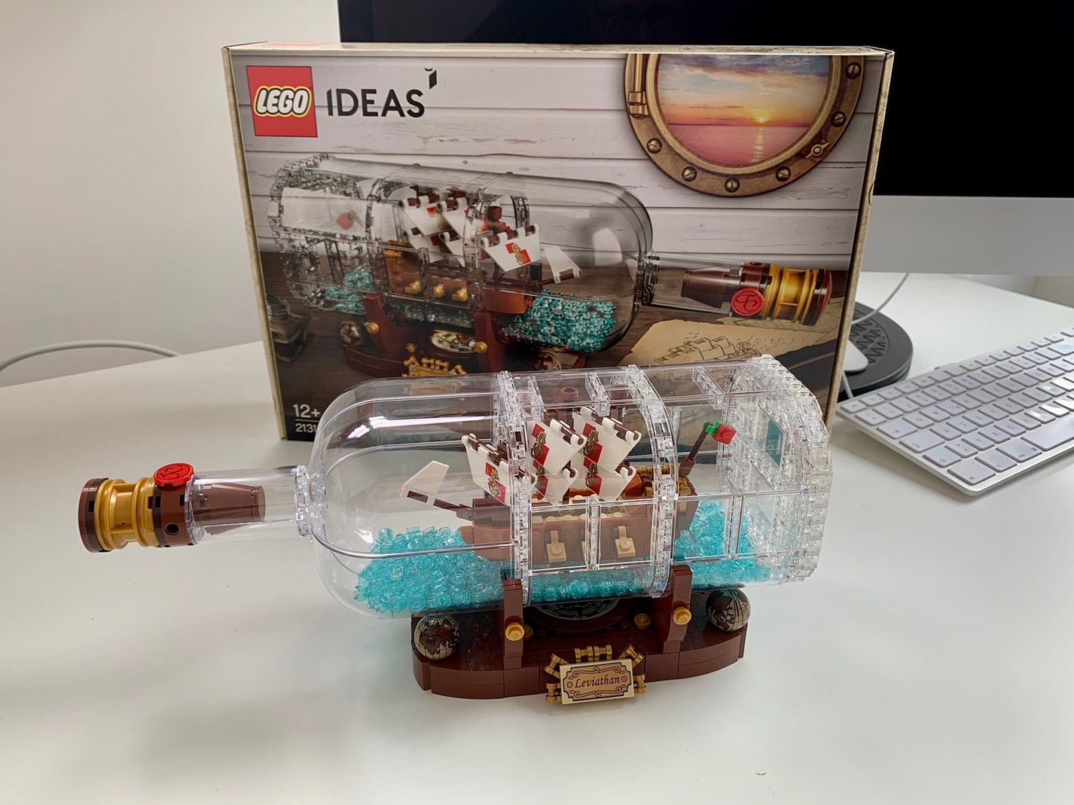 Lego Buddelschiff