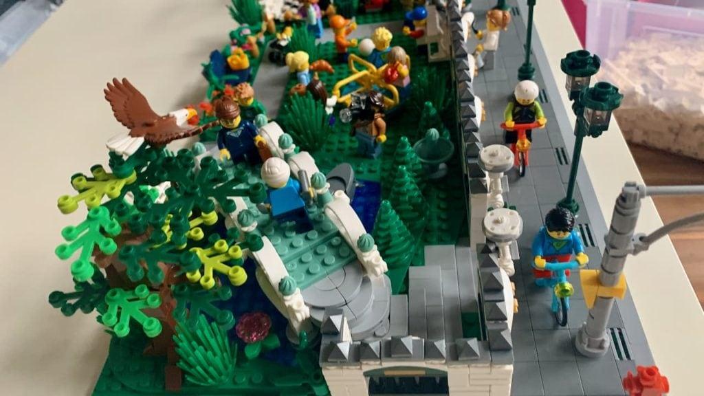 Lego, BlueBrixx und der Park