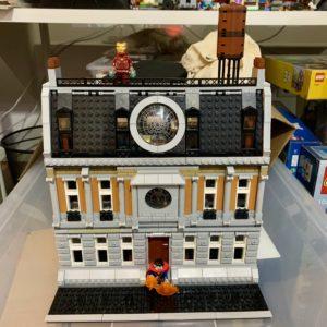 Lego Sanctum Sanctorum Modular Building MOC Vorderseite