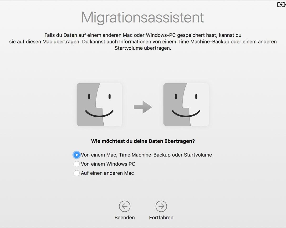 Ein neuer Mac: Migration oder nicht?
