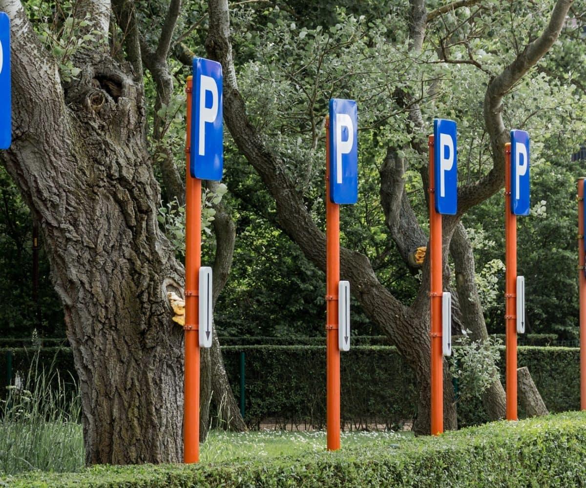 Domainparkplatz